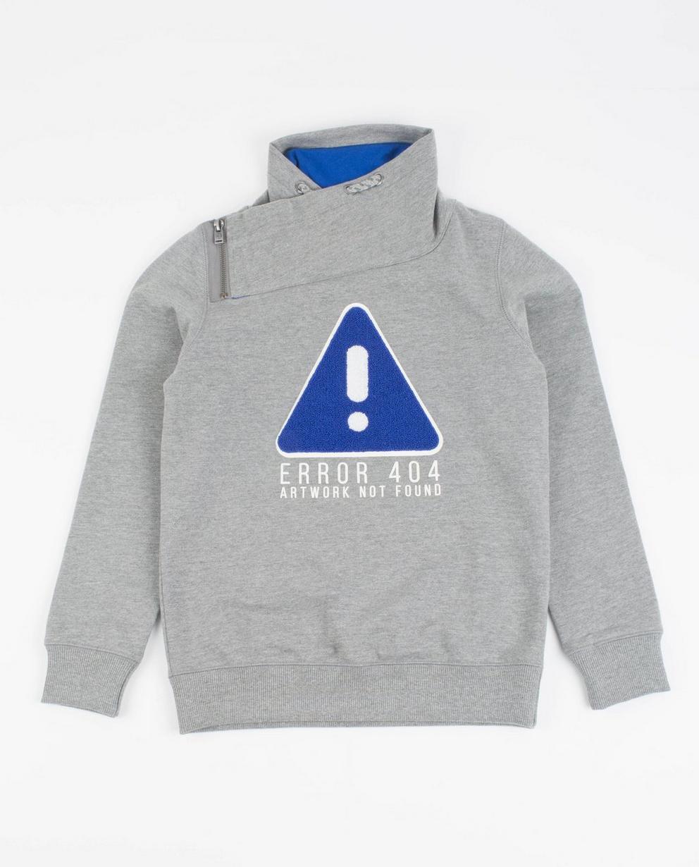 Sweater met bouclé print - en sjaalkraag - JBC
